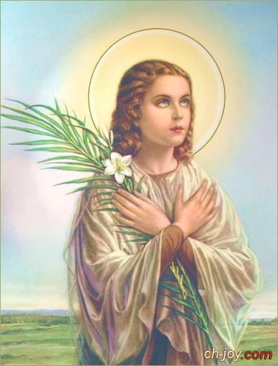 حصريا صور القديسة ماريا  جوريتي