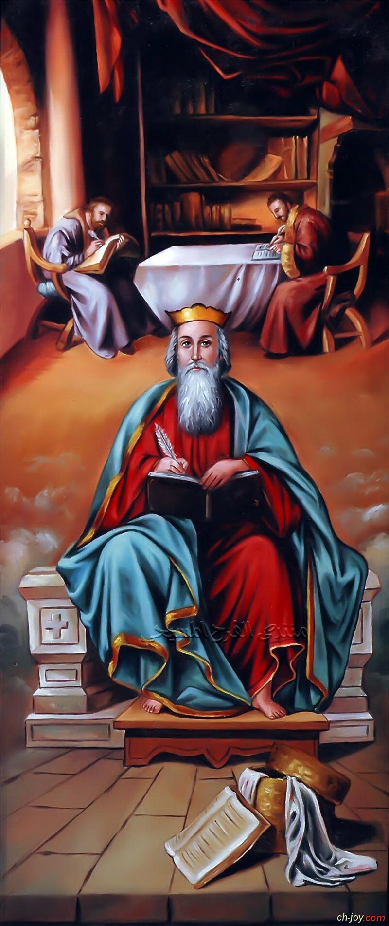 بوستر صورة القديس يوليوس الاقفهصي كاتب سير الشهداء