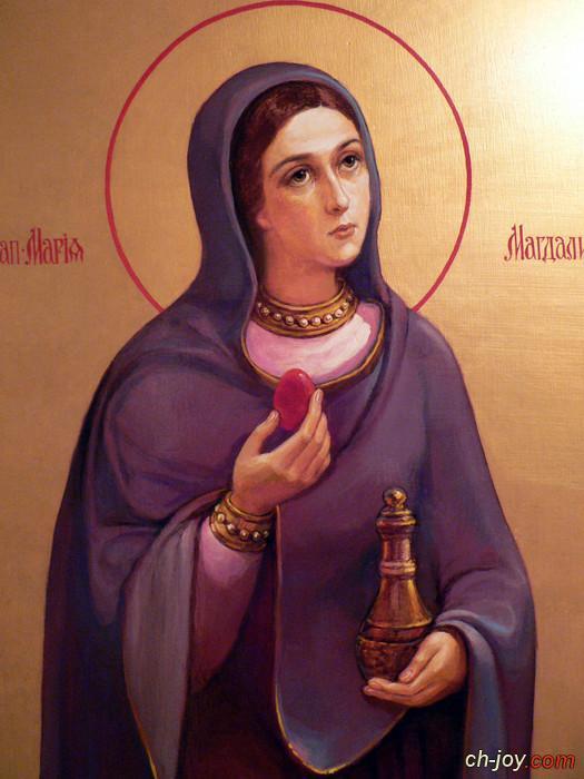 صورة جديدة لمريم المجدلية