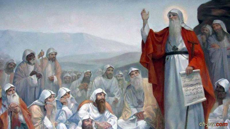 السلام لأنبا أنطونيوس مصباح الرهبنة المضئ بنور المسيح
