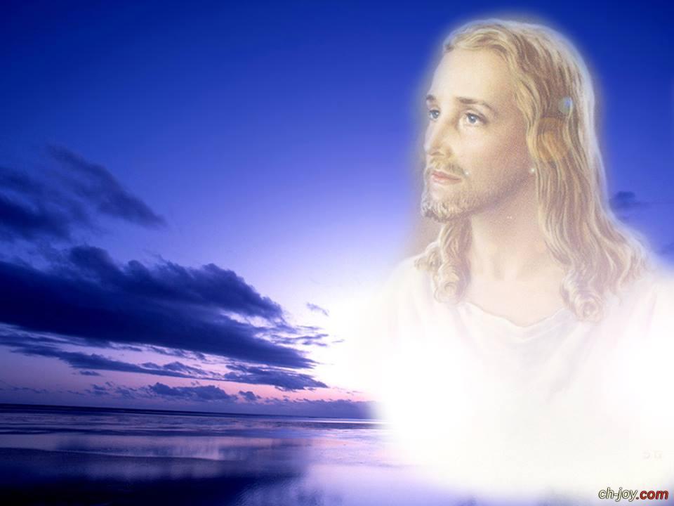 خلفية للسيد المسيح جميلة جداً