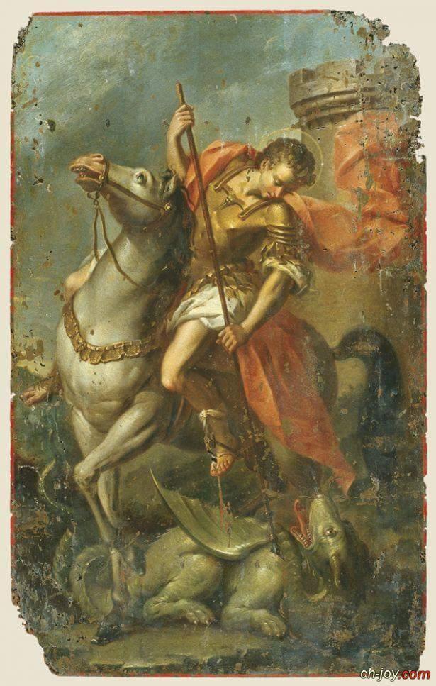 صور نادرة جدا للشهيد البطل  مارجرجس الرومانى