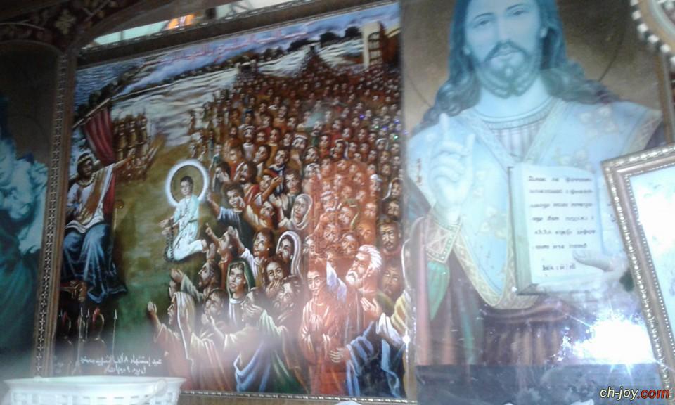 صور كنيسه القديس ابانوب بسمنود