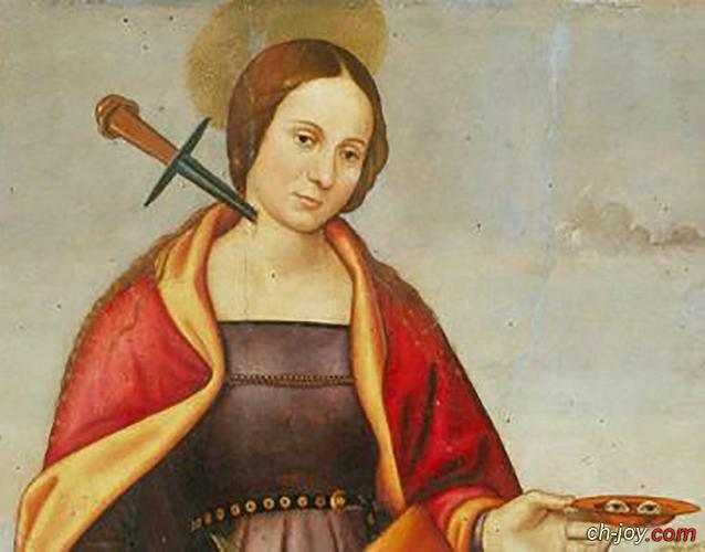 صور القديسة لوسيا  { st . lucy }