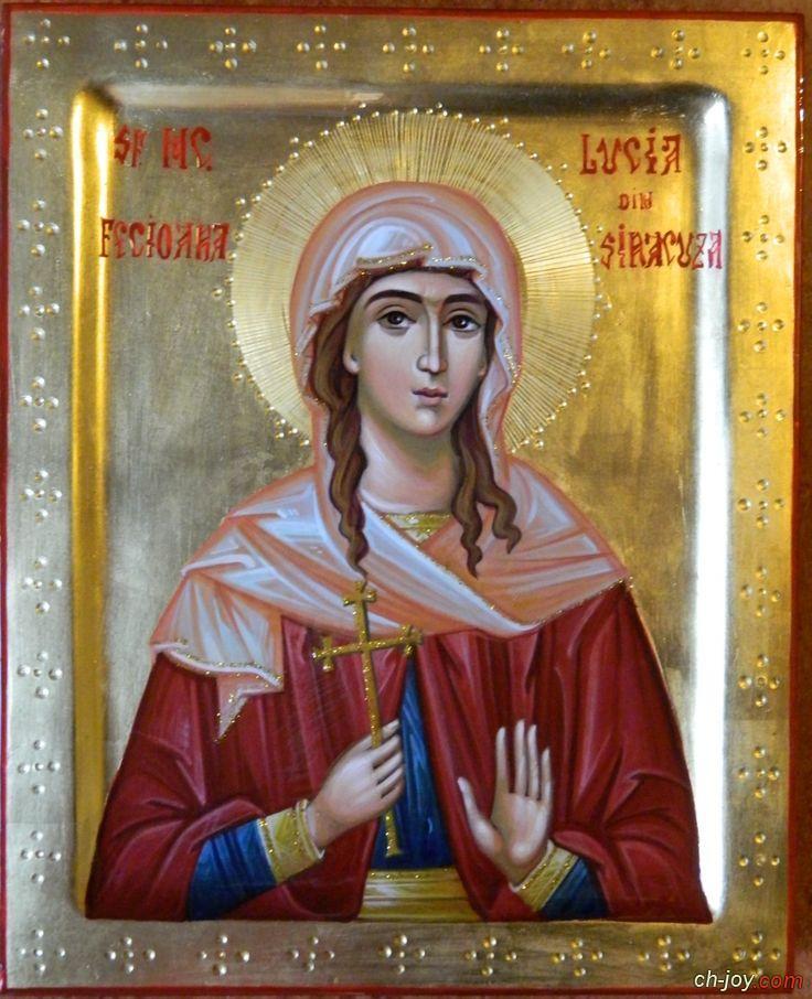 القديسة لوسيا st . Lucia