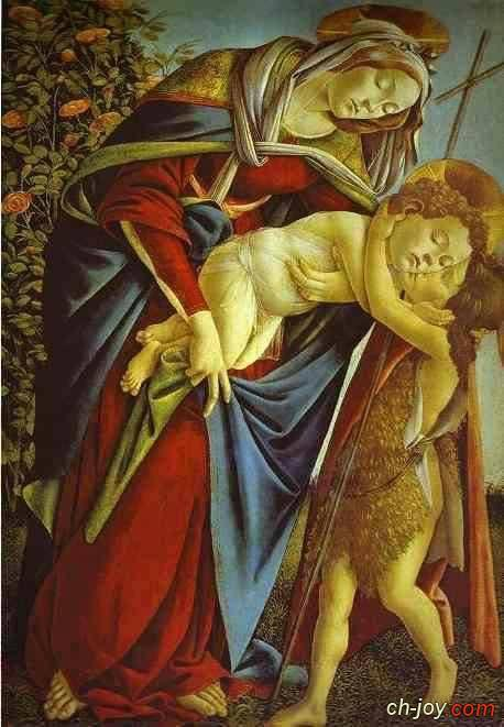 صوره نادره تضم المسيح وهو طفل ويوحنا المعمدان يعانقه