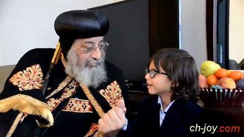 لقاء مع البابا تواضروس الثانى