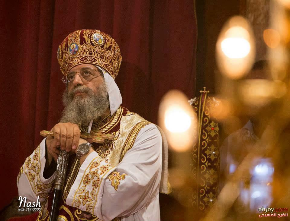 رسالة فى عيد تجليس قداسة البابا تاواضروس الثانى