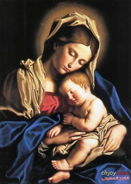 حينما اريد أن أنظر الى العذراء والدة الاله