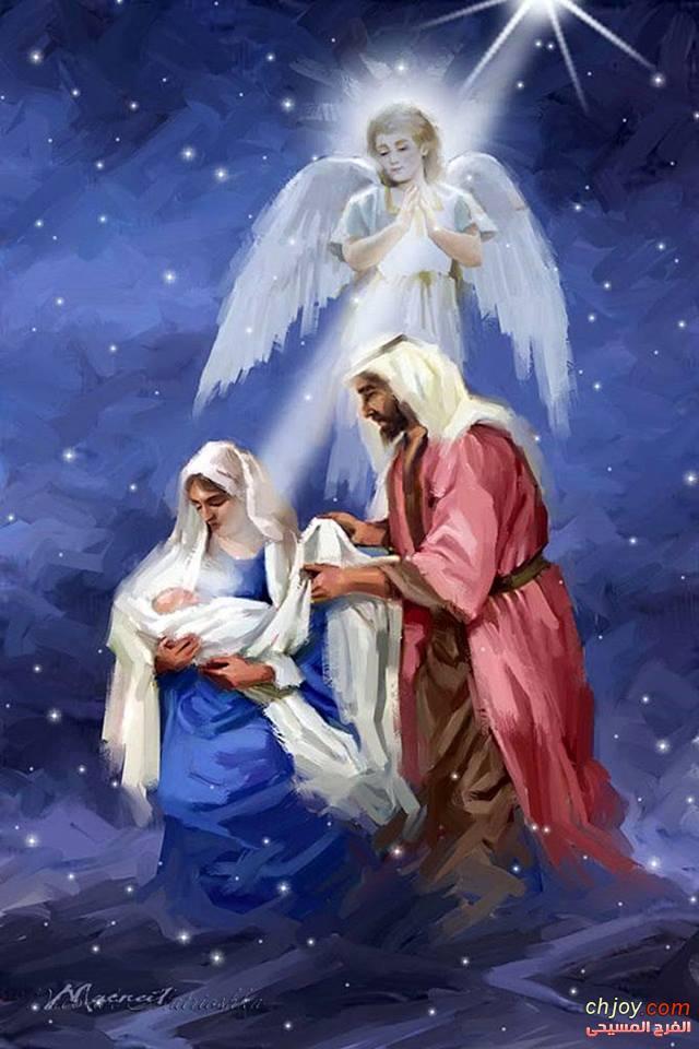 ارسل الله ابنه مولودا من امرأة