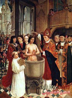 موت المؤمن قبل المعموديّة