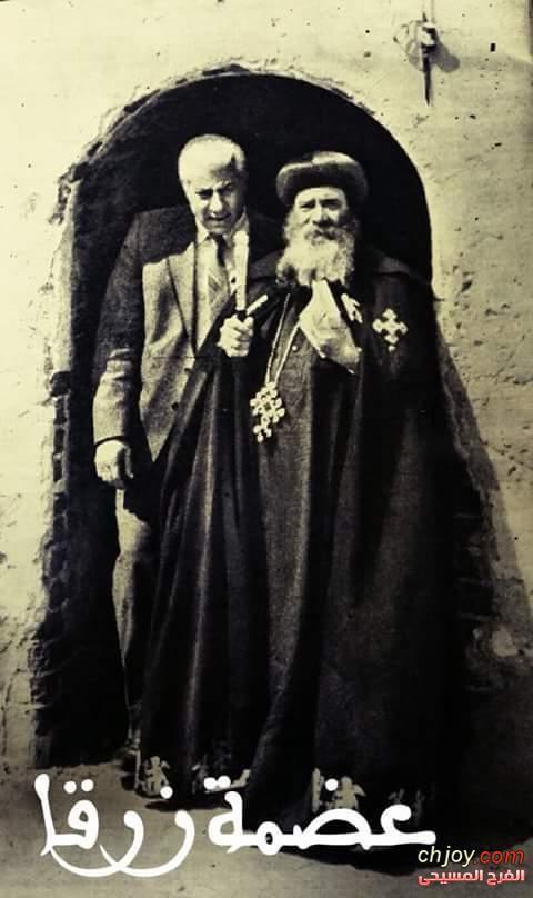 البابا شنودة ..راهب في ثوب بطرك