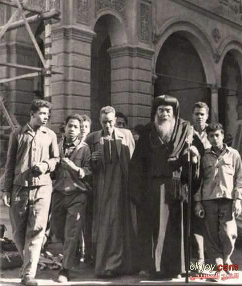 الشيخ كيرلس وابونا علي