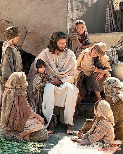 """""""المسيح جالس وسط عشارين وخطاة"""