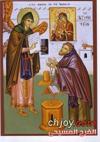 ملف كامل عن ايقونات القديسة العذراء مريم   للمبدعة Habat Hinta