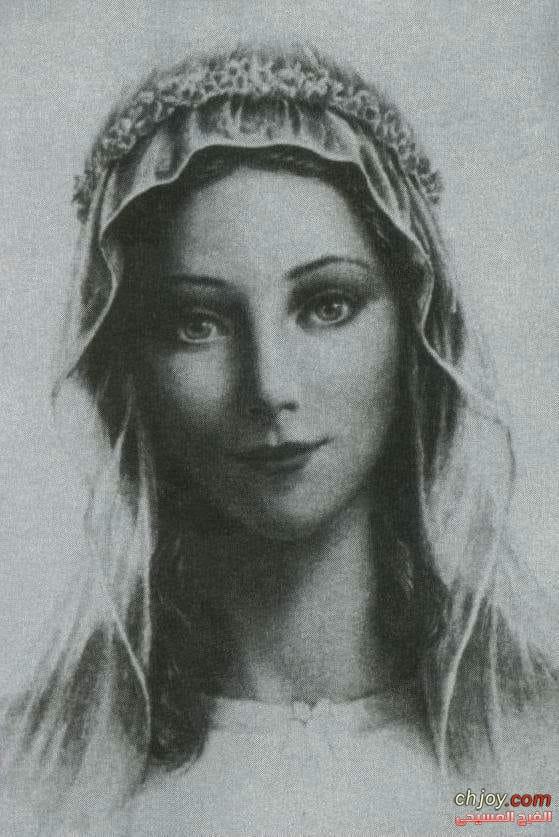 صورة للعذراء مريم مرسومة حسب وصف القديس ابيفانيوس اسقف سلاميس