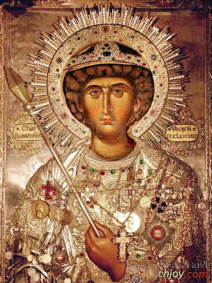 ايقونة القديس جاورجيوس  التى تختبئ وراءها أحداث عظيمة