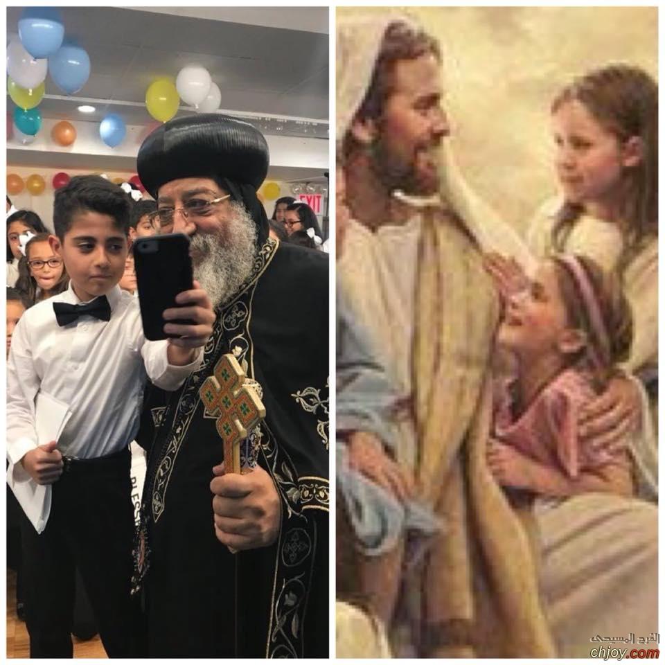 لانك تشبه يسوع (افتخر جدا بكونك بابا)