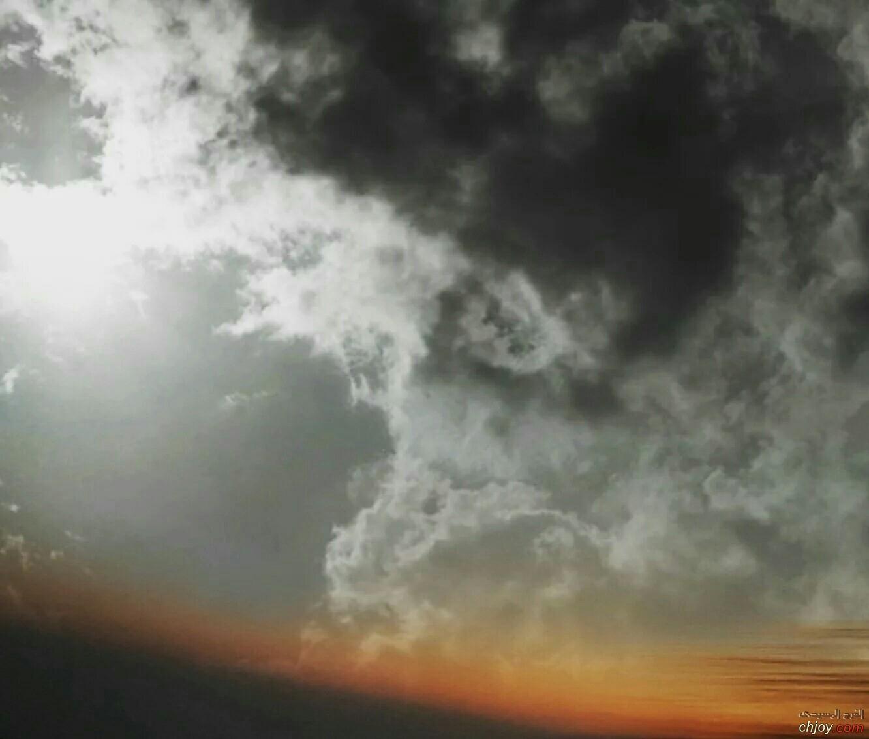 منظر الغيوم والسحاب