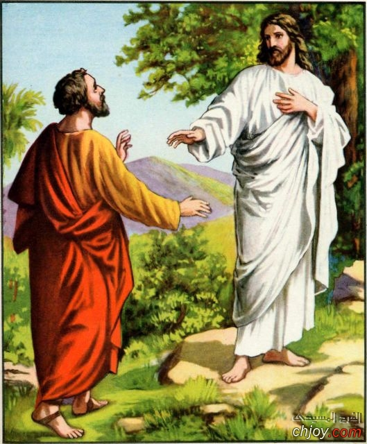 """لماذا قال يسوع لبطرس """" اذهب عني يا شيطان"""" ؟"""