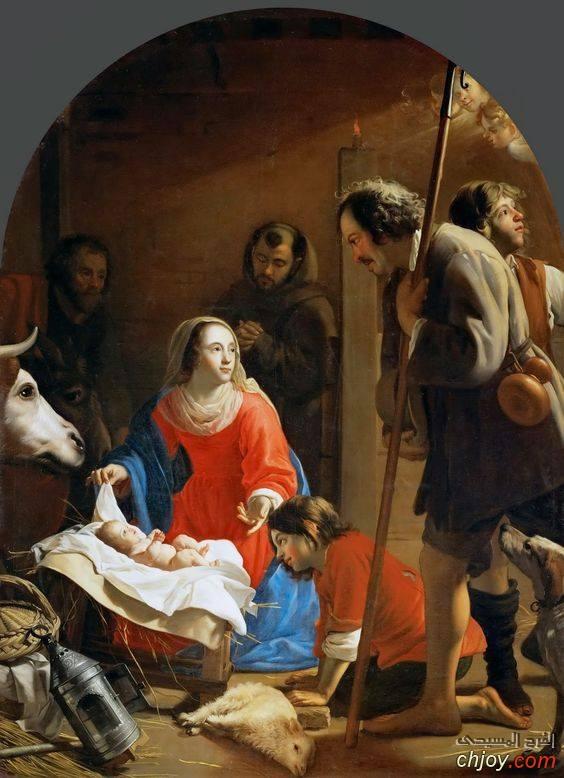 """مليون لوحة للسيد المسيح  """" الميلاد والطفولة """""""