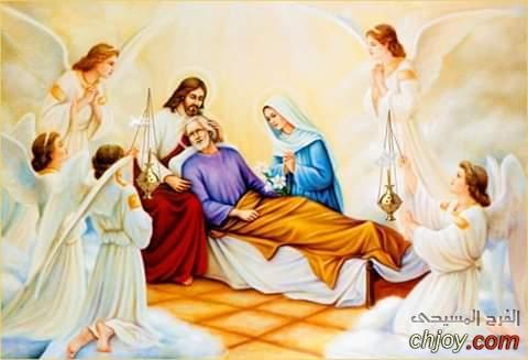 نياحة القديس يوسف البار خطيب القديسة مريم العذراء
