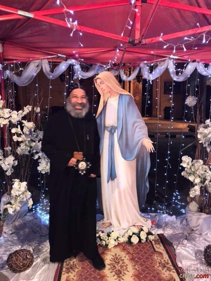 مديح جديد للانبا رافائيل للعذراء مريم مرتب على الابجدية وألقاب ام الله