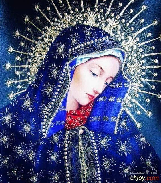 العذراء مريم بهجة الصديقين وفرح المؤمنين