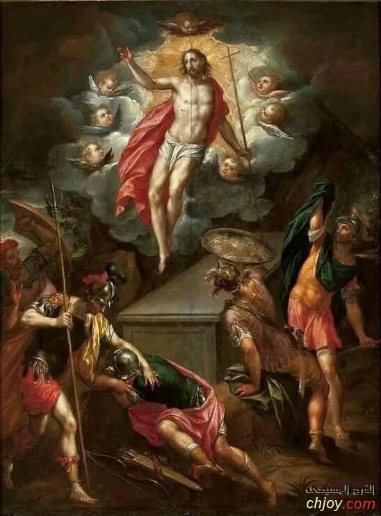 صورة القيامة على باب القبر المقدس