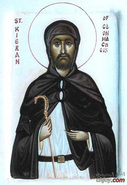 القديس البار كياران الايرليندي