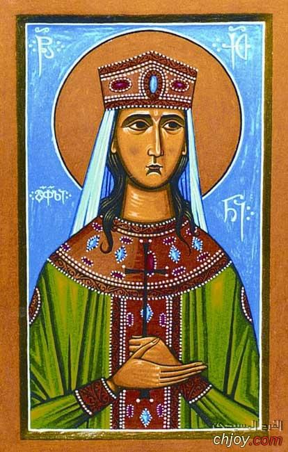 ايقونة القديسة كيتيغان ملكة جيورجيا