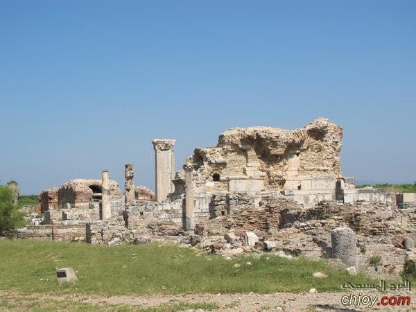 كنيسة لاودكية من الكنائس التى ذكرت فى سفر الرؤيا