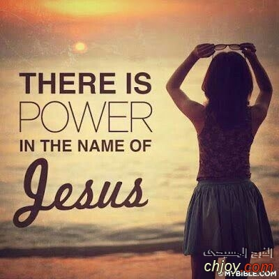There is power in the neme of jesus