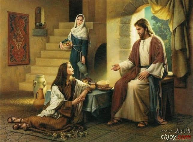 درس شخصية مريم اخت لعازر يصلح لخدمة اعدادى