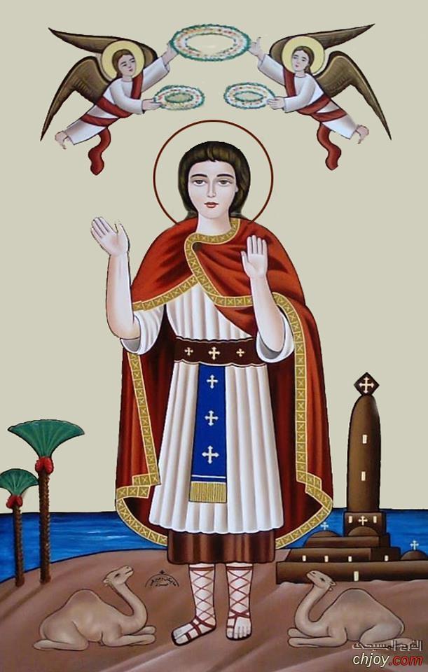 العجيب فى القديسين القديس مارمينا العجائبى