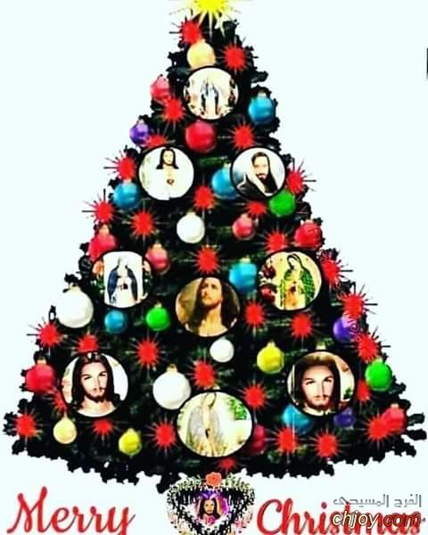 Merry Christmas مع يسوع