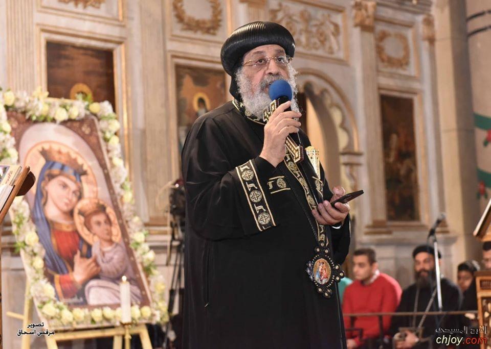 (روح الرجاء) عظة قداسة البابا تواضروس الثاني في ليلة رأس السنة