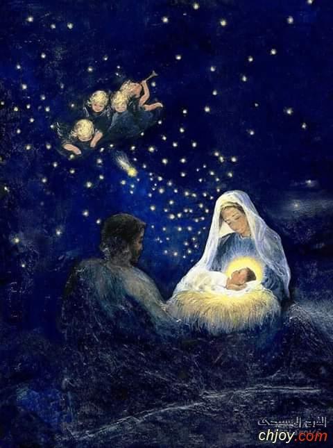أفرحوا وتهللوا ياكل الأمم لقد ولد ملك الملوك👑💛