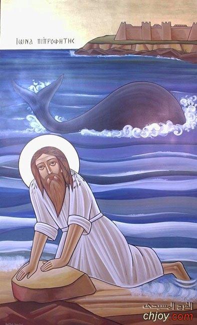 صوم يونان وخمسة صور لنعمة الله