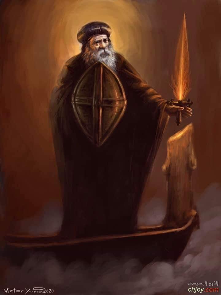الاسد المرقسى (صور جديدة لقداسة البابا شنودة الثالث)