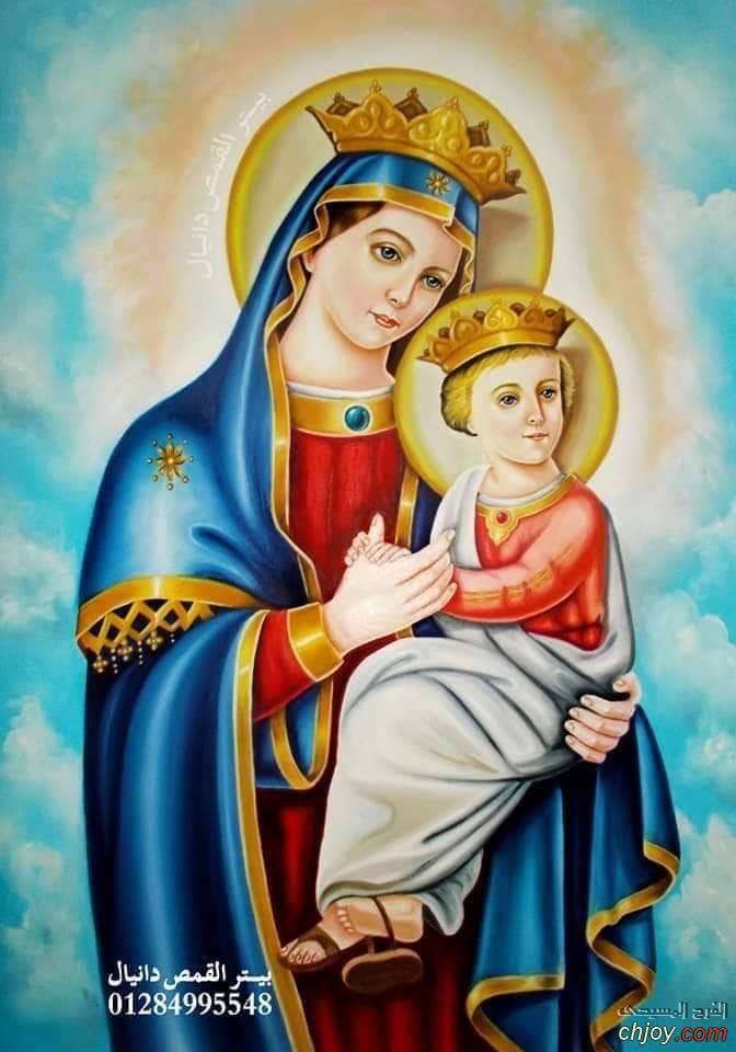 عيد ميلاد الغاليه أمنا العدرا 💞..Happy Birth day ماما العدرا