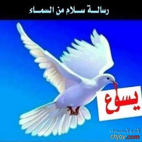 رسالة سلام من السماء