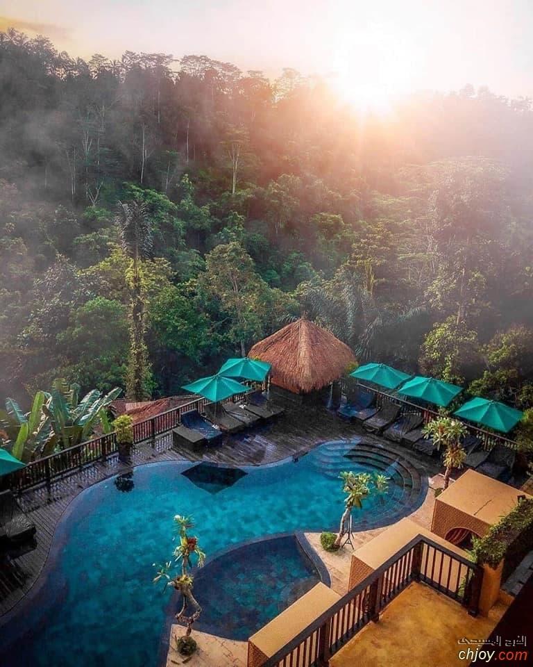 جزيره بالي في اندونيسيا احد اجمل الاماكن السياحيه في العالم