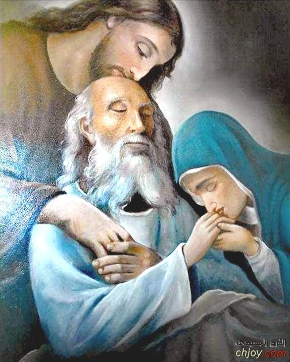 نياحه القديس يوسف النجار شفيع العمال