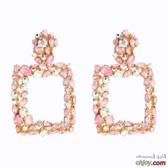مجوهرات بلمسة الأحجار الوردية الراقية