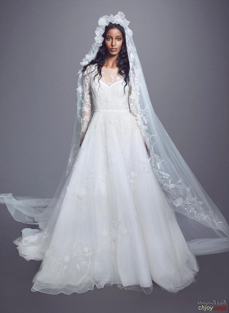 أجدد موديلات فساتين زفاف مسيحية لعام  2021