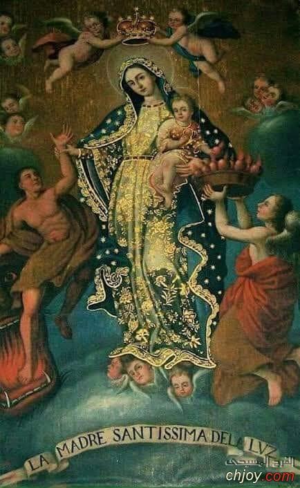 غذاء الروح ... صلاة الى مريم أم النور الالهي