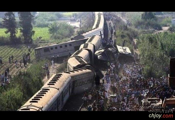 نصلي من أجل المتوفيين والمصابين في حادث القطار في سوهاج