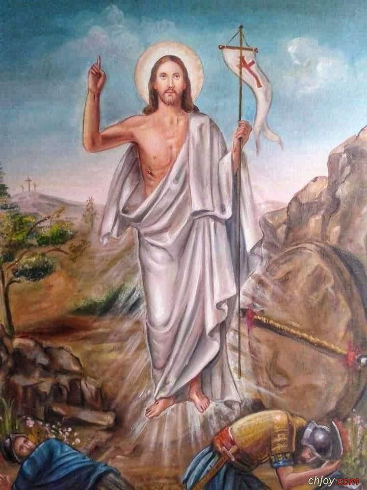 نهئنكم بعيد القيامة المجيد (اخرستوس انيستي اليسوس انيستي)