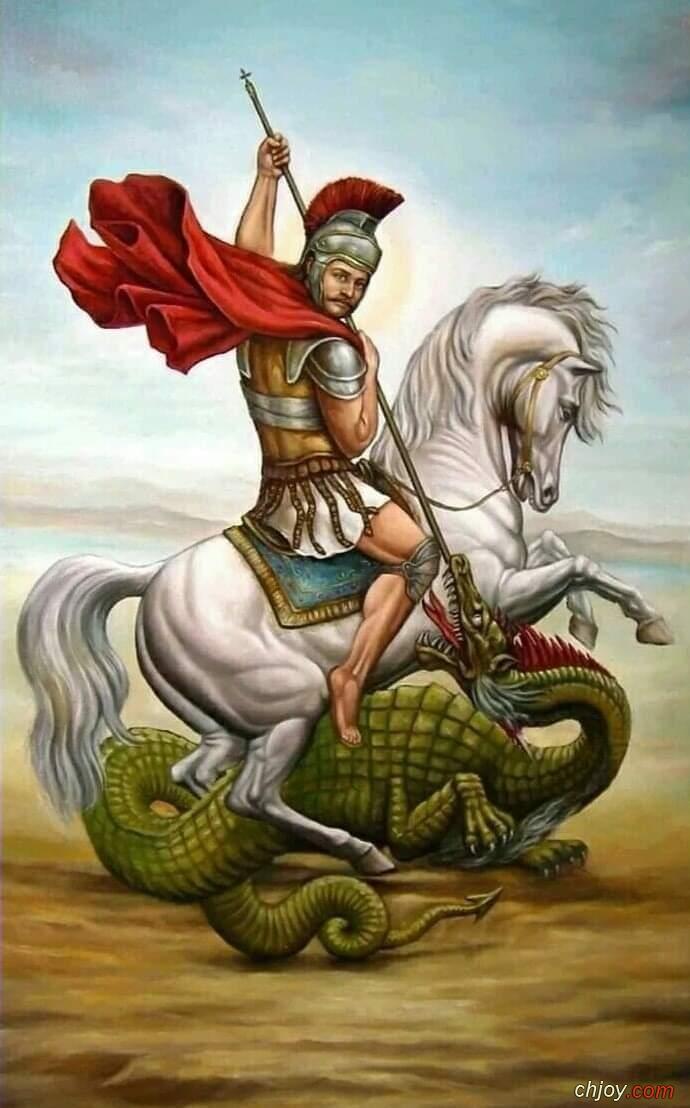 السلام لك ايها العظيم فى الشهداء مارجرجس الروماني
